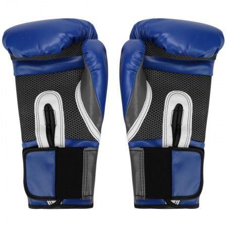 Luvas Boxe / Muay Thai - Elite  Evershield - Azul - Everlast  - Loja do Competidor