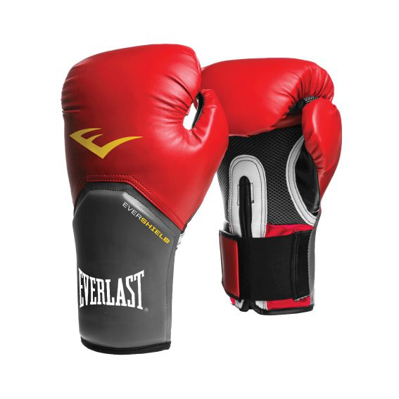 Luvas Boxe / Muay Thai - Elite  Evershield - Vermelha - Everlast .