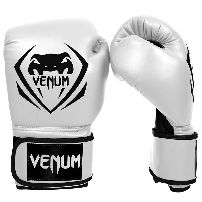 Luvas Boxe / Muay Thai - New Contender - Branco - Venum