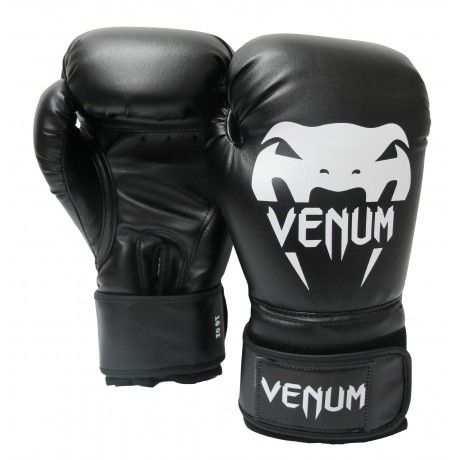 Luvas Boxe / Muay Thai - Contender - Preto - Venum .