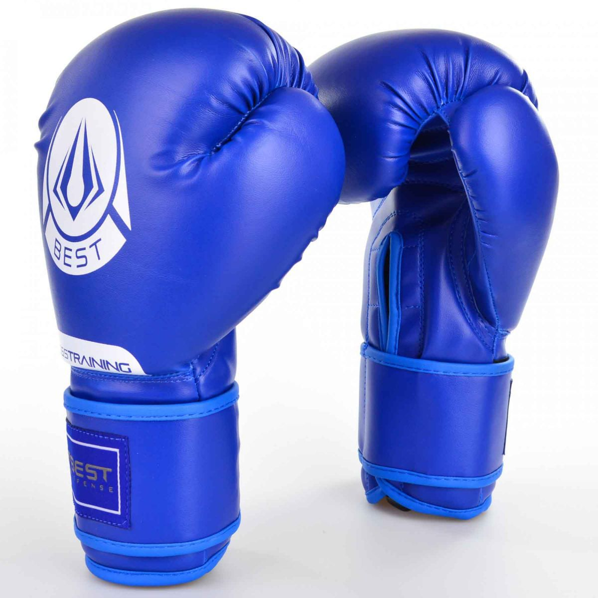 Luvas Boxe / Muay Thai - Cross Trainning- Best Defense - Azul- 10/12/14OZ .