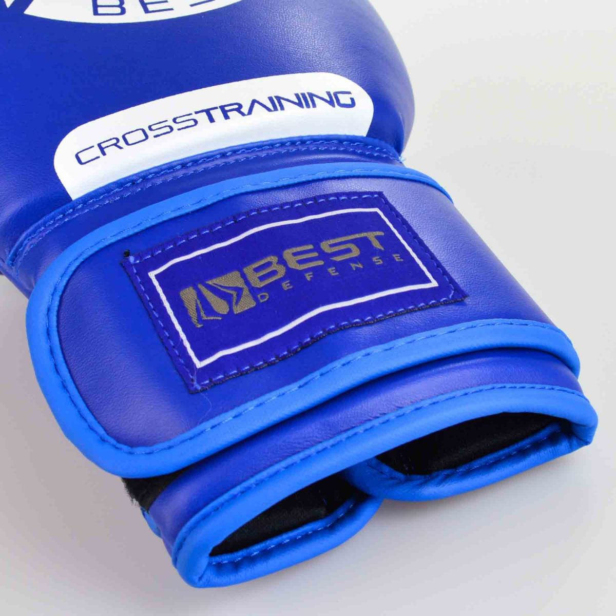 Luvas Boxe / Muay Thai - Cross Trainning- Best Defense - Azul- 10/12/14OZ .  - Loja do Competidor