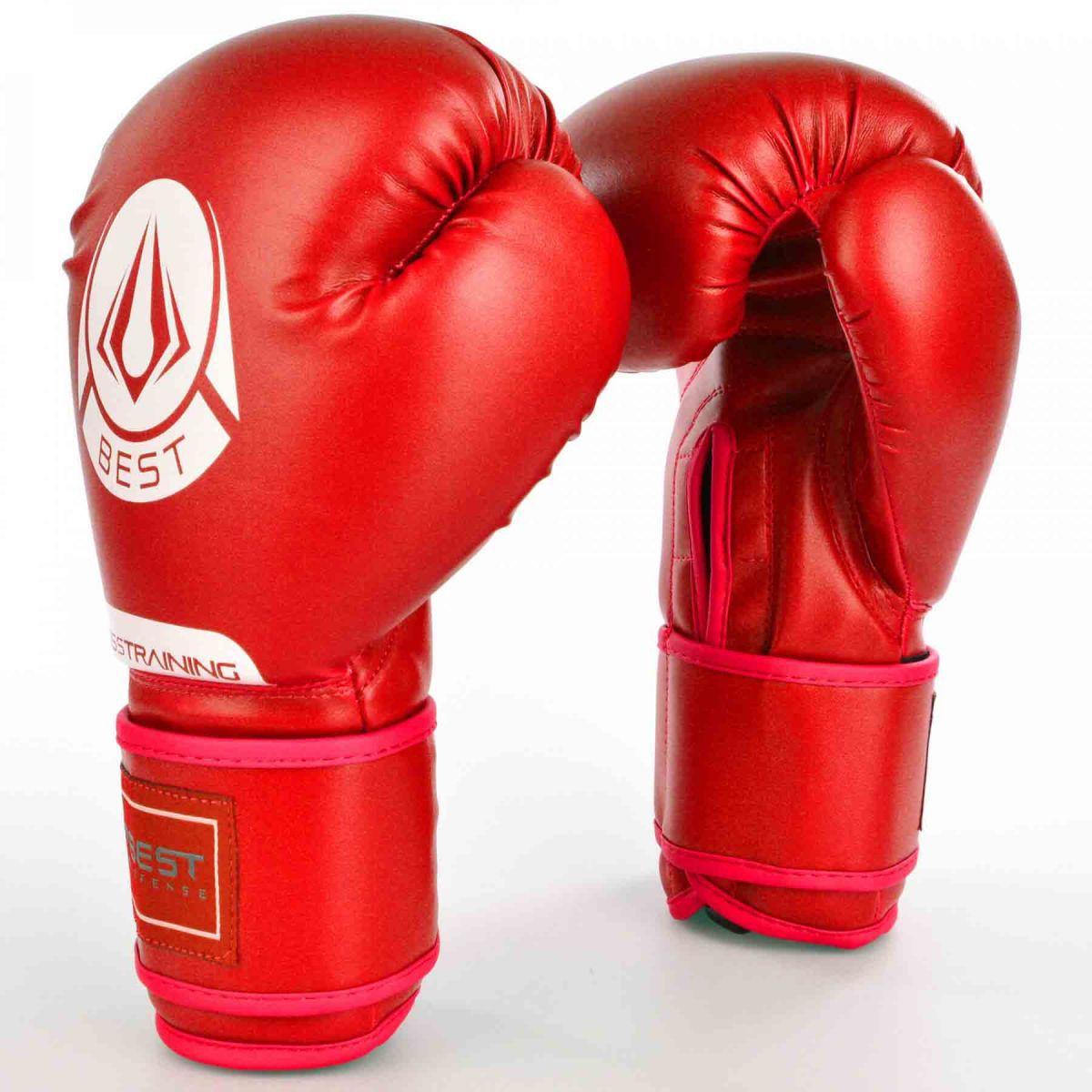 Luvas Boxe / Muay Thai - Cross Trainning- Best Defense - Vermelho - 10/12/14OZ .