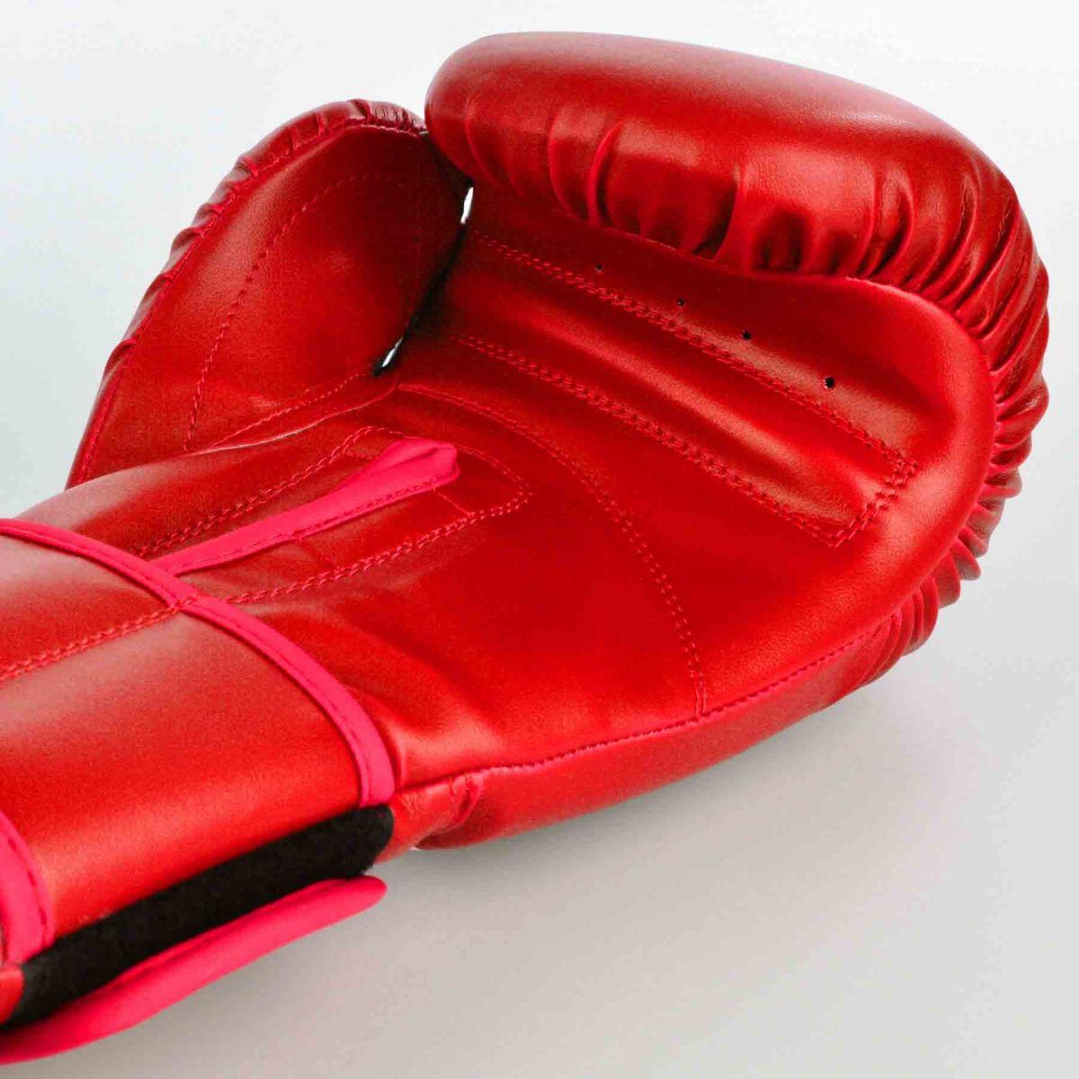 Luvas Boxe / Muay Thai - Cross Trainning- Best Defense - Vermelho - 10/12/14OZ  - Loja do Competidor