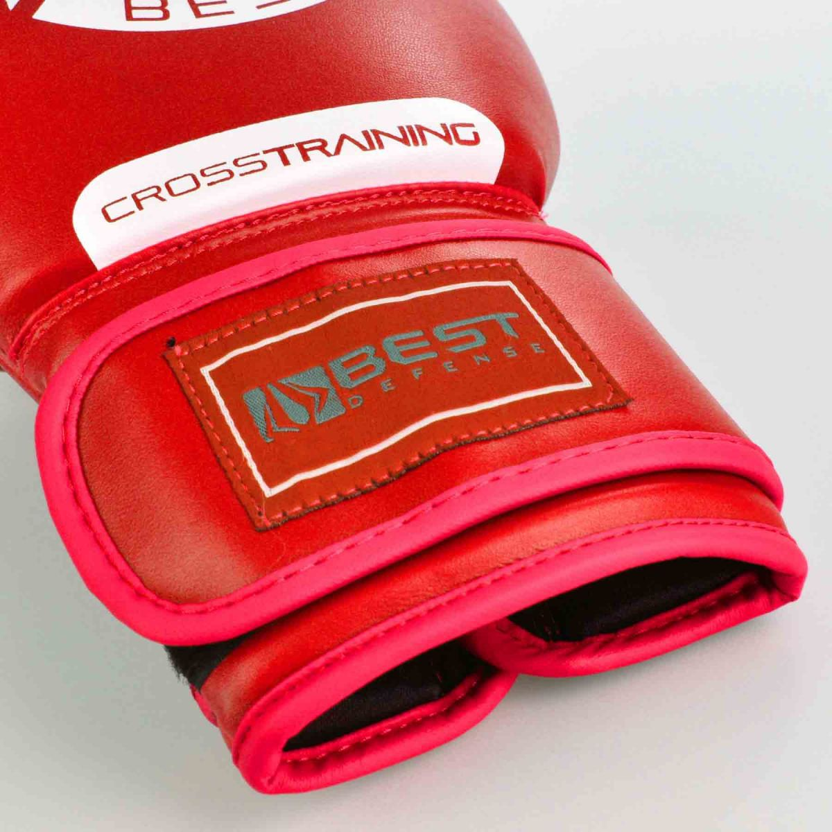 Luvas Boxe / Muay Thai - Cross Trainning- Best Defense - Vermelho - 10/12/14OZ .  - Loja do Competidor