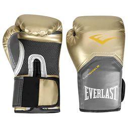 Luvas Boxe / Muay Thai - Elite  Evershield - Dourado - Everlast .
