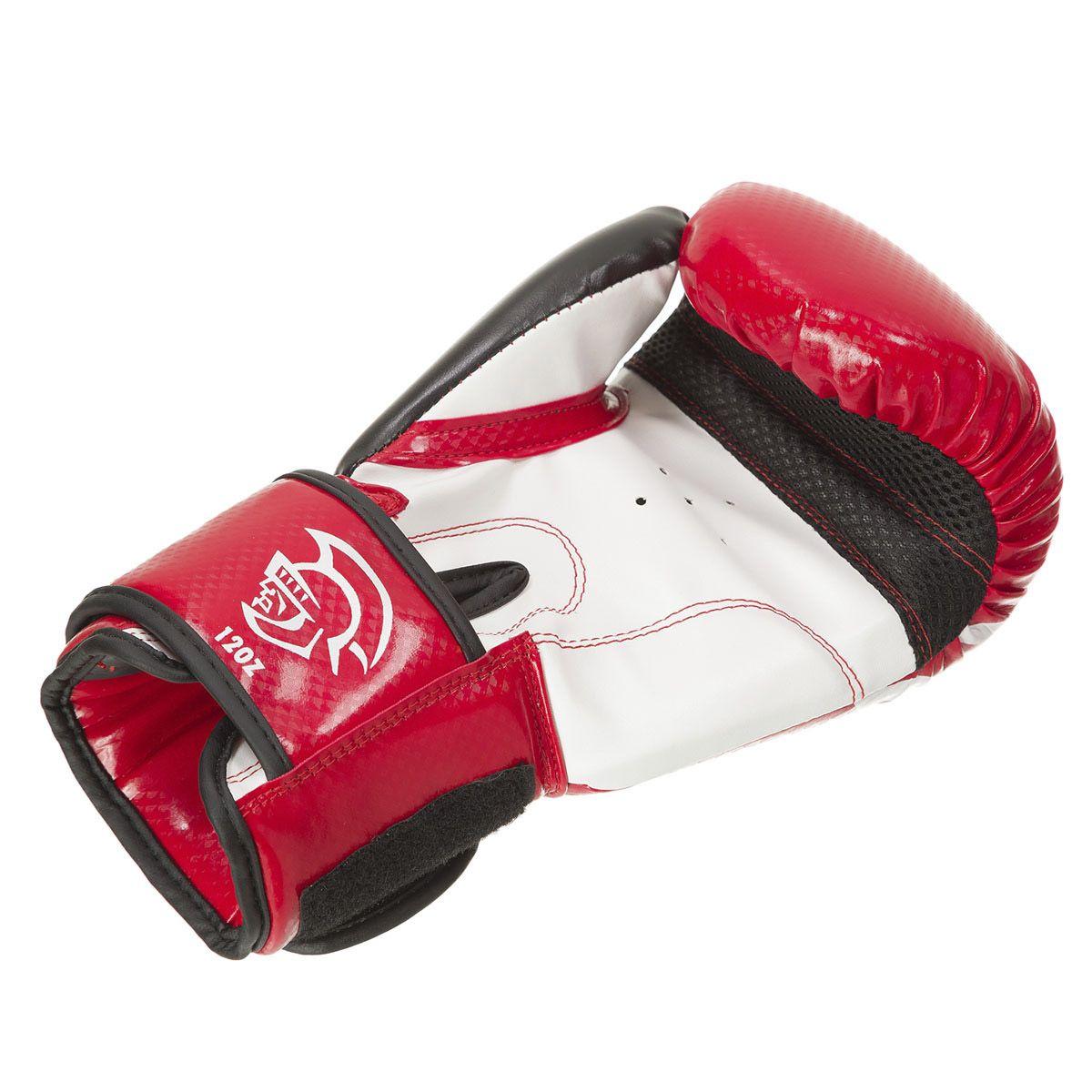 Luvas Boxe / Muay Thai - Elite Training - Verm/Preto- Pretorian - 10/12/14/16 OZ  - Loja do Competidor
