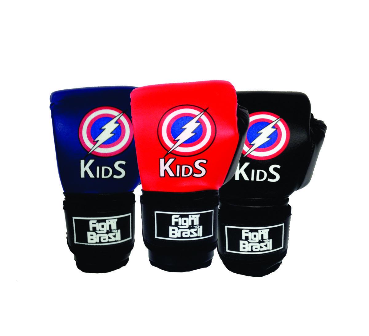 Luvas Boxe / Muay Thai - Kids - Capitão América - FBR - 4oz