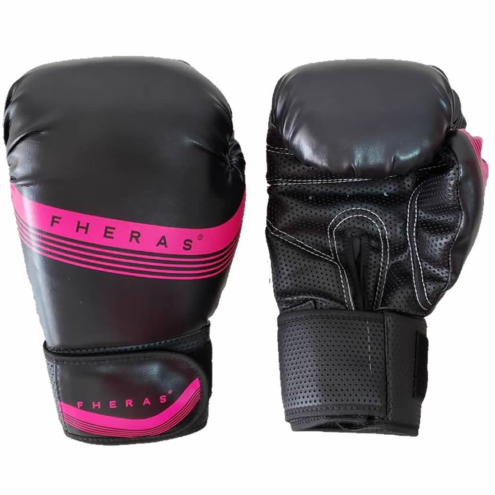 Luvas Boxe Muay Thai Lines - Fheras - 10 / 12 OZ  - Loja do Competidor