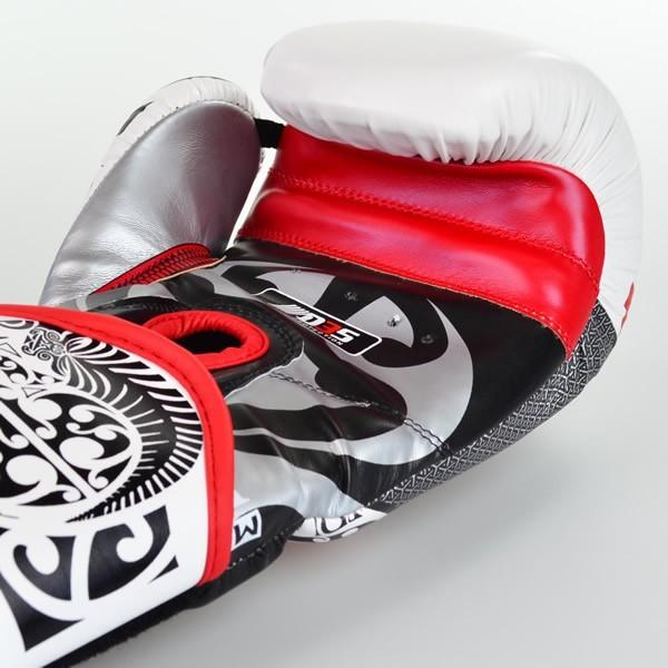 Luvas Boxe / Muay Thai - Maori - Best Defense - Branca - 10/12/14OZ .  - Loja do Competidor