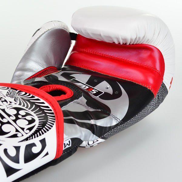 Luvas Boxe Muay Thai - Maori - Best Defense - Branca - 10/12/14OZ .  - Loja do Competidor