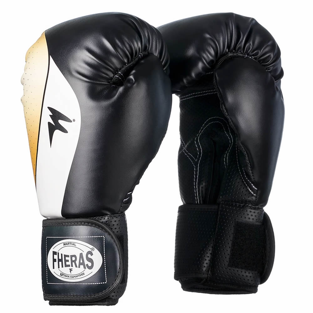 Luvas Boxe Muay Thai Top Horus - Fheras - 10/ 12 / 14 OZ