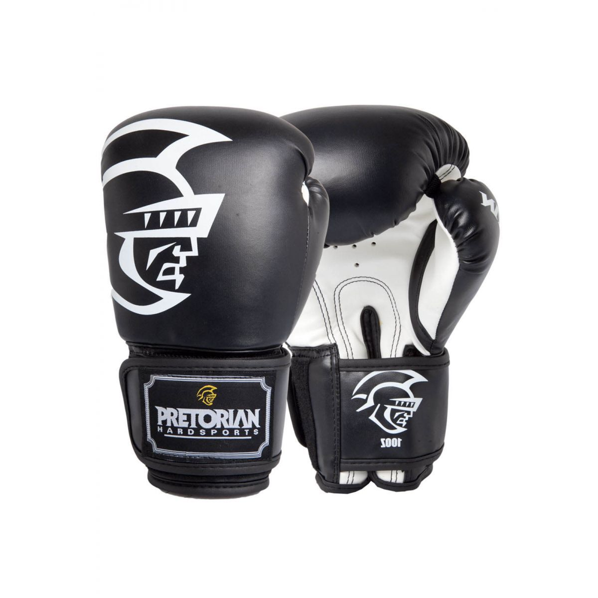 Luvas Boxe / Muay Thai - Training Series - Preto - Pretorian - 10/12/14/16 OZ -