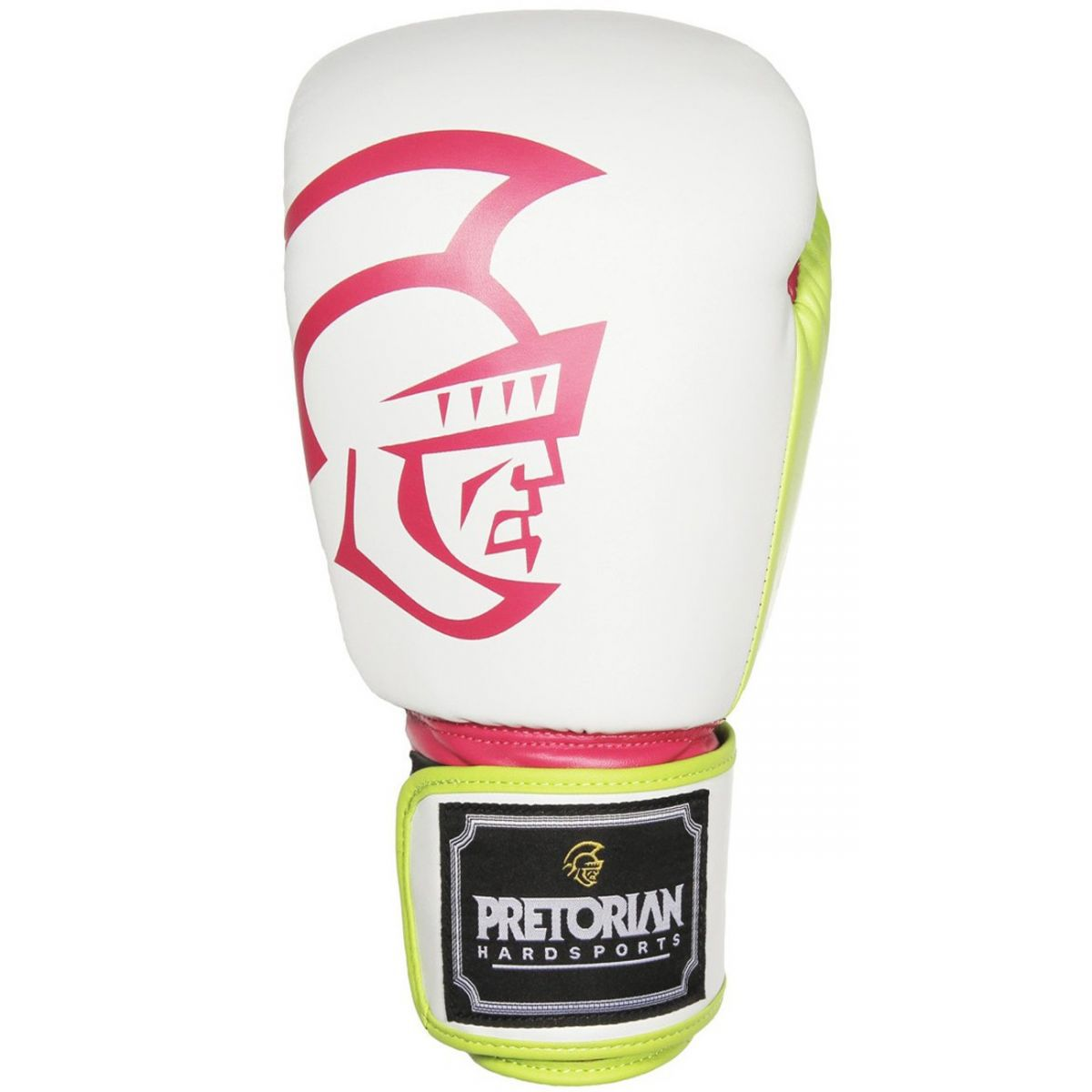 Luvas Boxe / Muay Thai - Training Series - Rosa/Branco/Verde- Pretorian - 10/12/14/16 OZ .