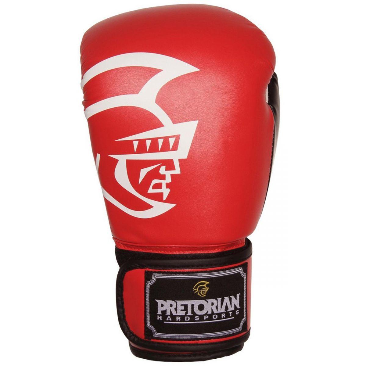 Luvas Boxe / Muay Thai - Training Series - Vermelho/Preto- Pretorian - 10/12/14/16 OZ .
