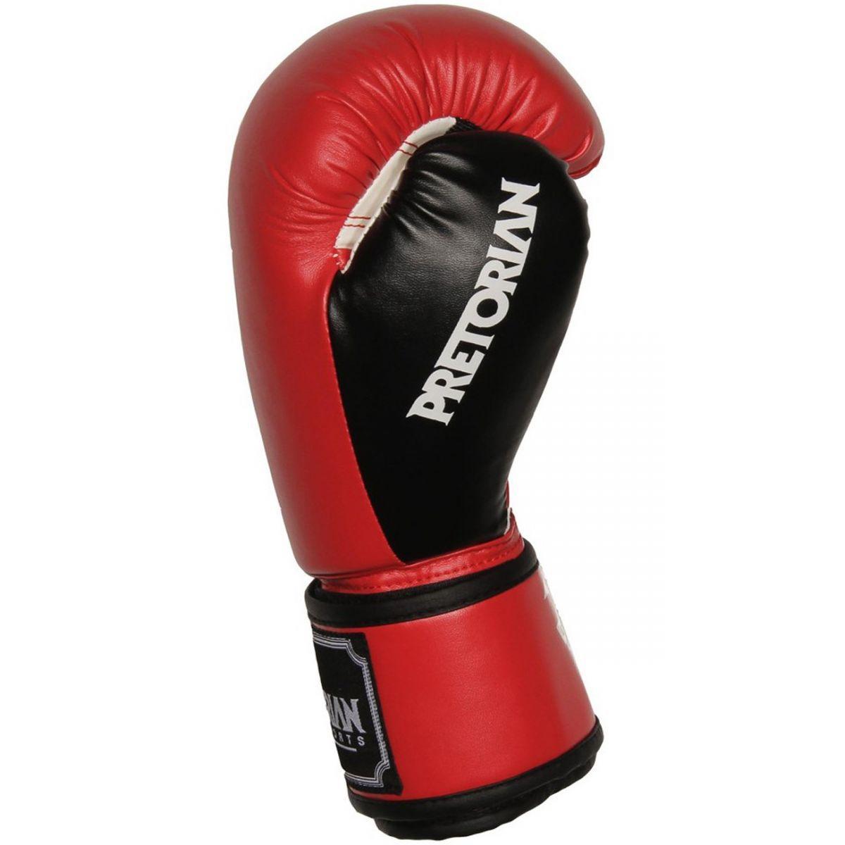 Luvas Boxe / Muay Thai - Training Series - Vermelho/Preto- Pretorian - 10/12/14/16 OZ .  - Loja do Competidor