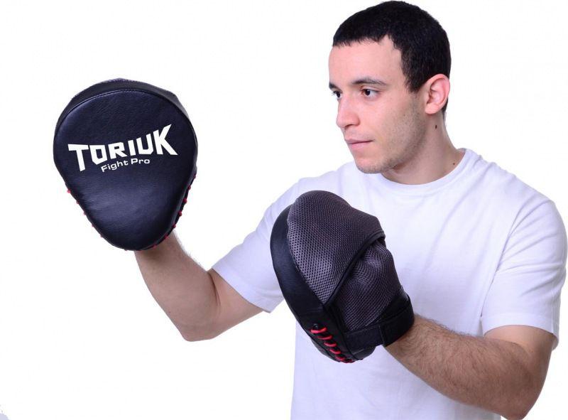 Luvas de Foco / Manopla de Soco - Fight Pro Toriuk - Par
