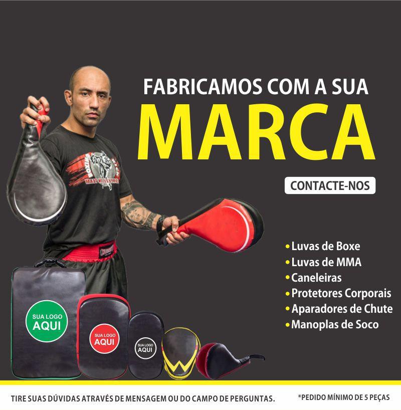 Luvas de Foco / Manopla de Soco - New Fight - Dragão Amarelo - Par- Toriuk  - Loja do Competidor