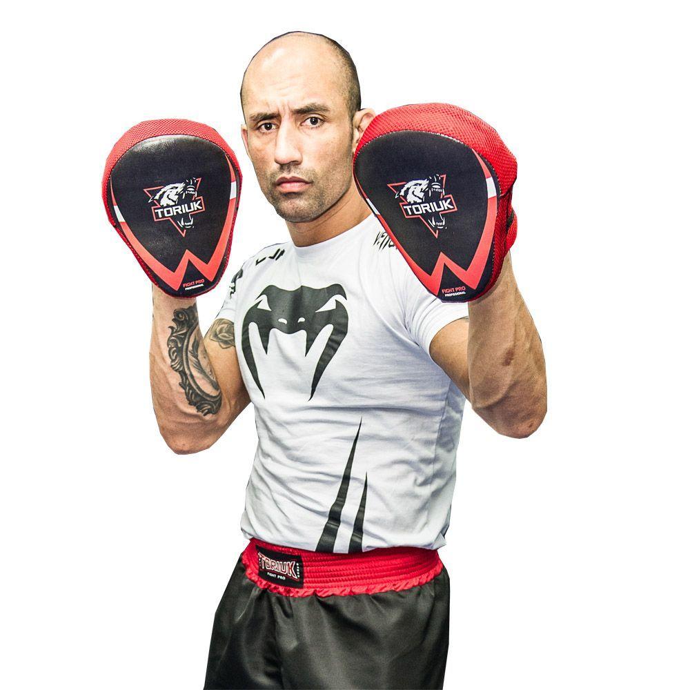 Luvas de Foco / Manopla de Soco - New Fight - Lobo - Par- Toriuk  - Loja do Competidor