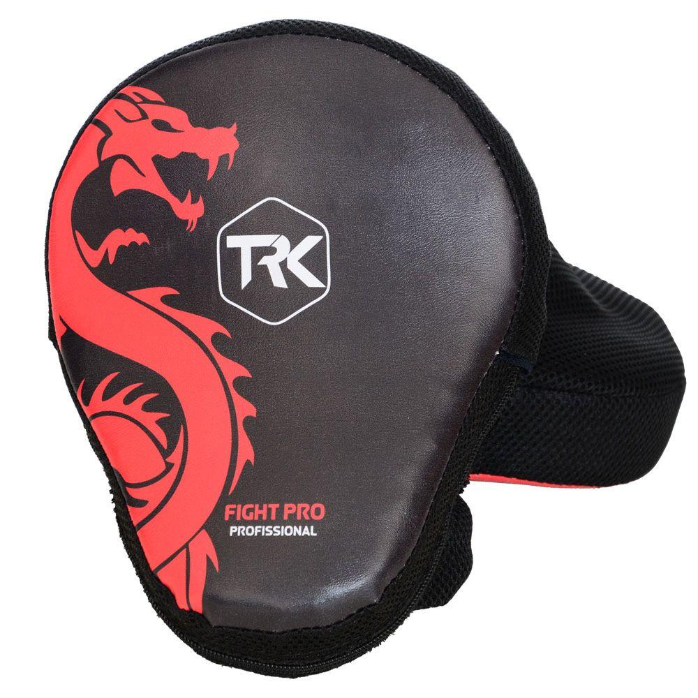 Luvas de Foco / Manopla de Soco - New Fight - Dragão Vermelho - Par - Toriuk