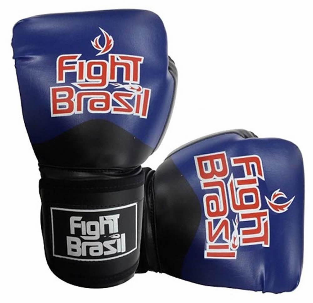 Luvas Kick Boxe Muay Thai - Azul - FBX-1374