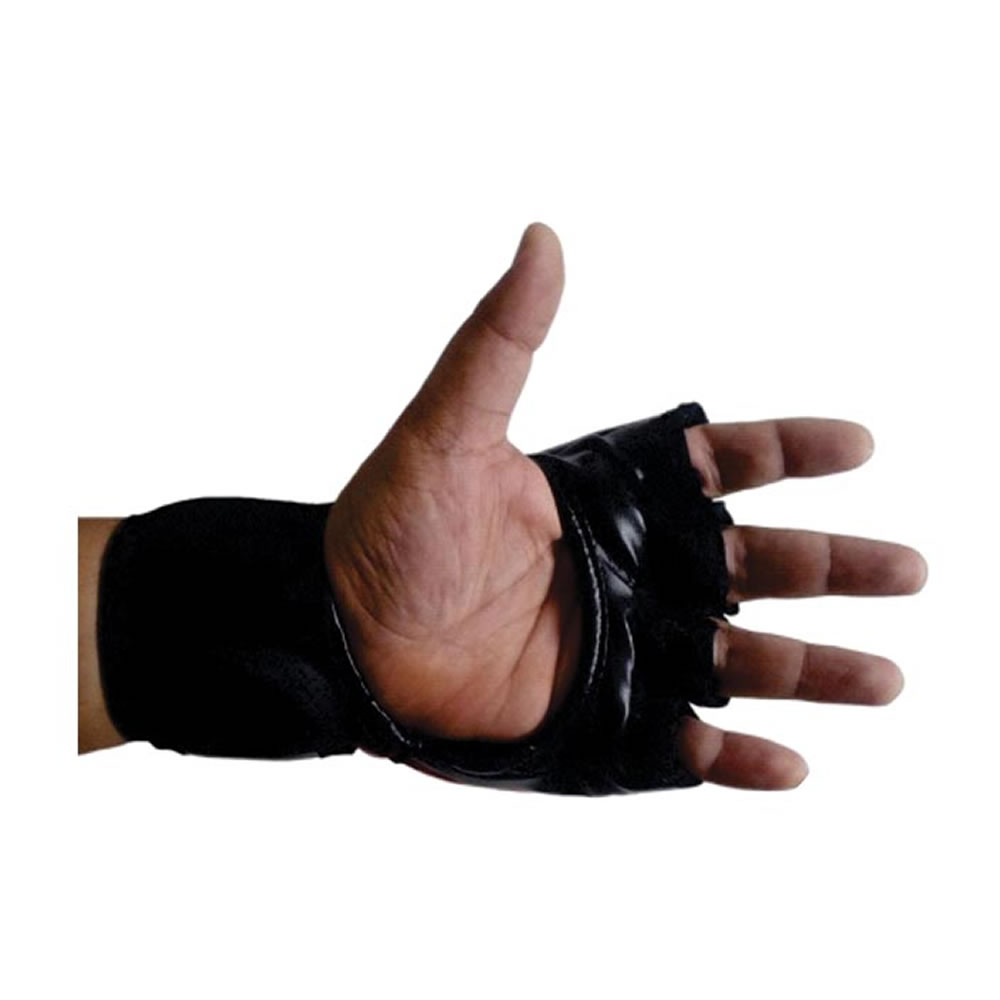 Luvas de MMA Grappling - Dedão Livre - Azul - Par
