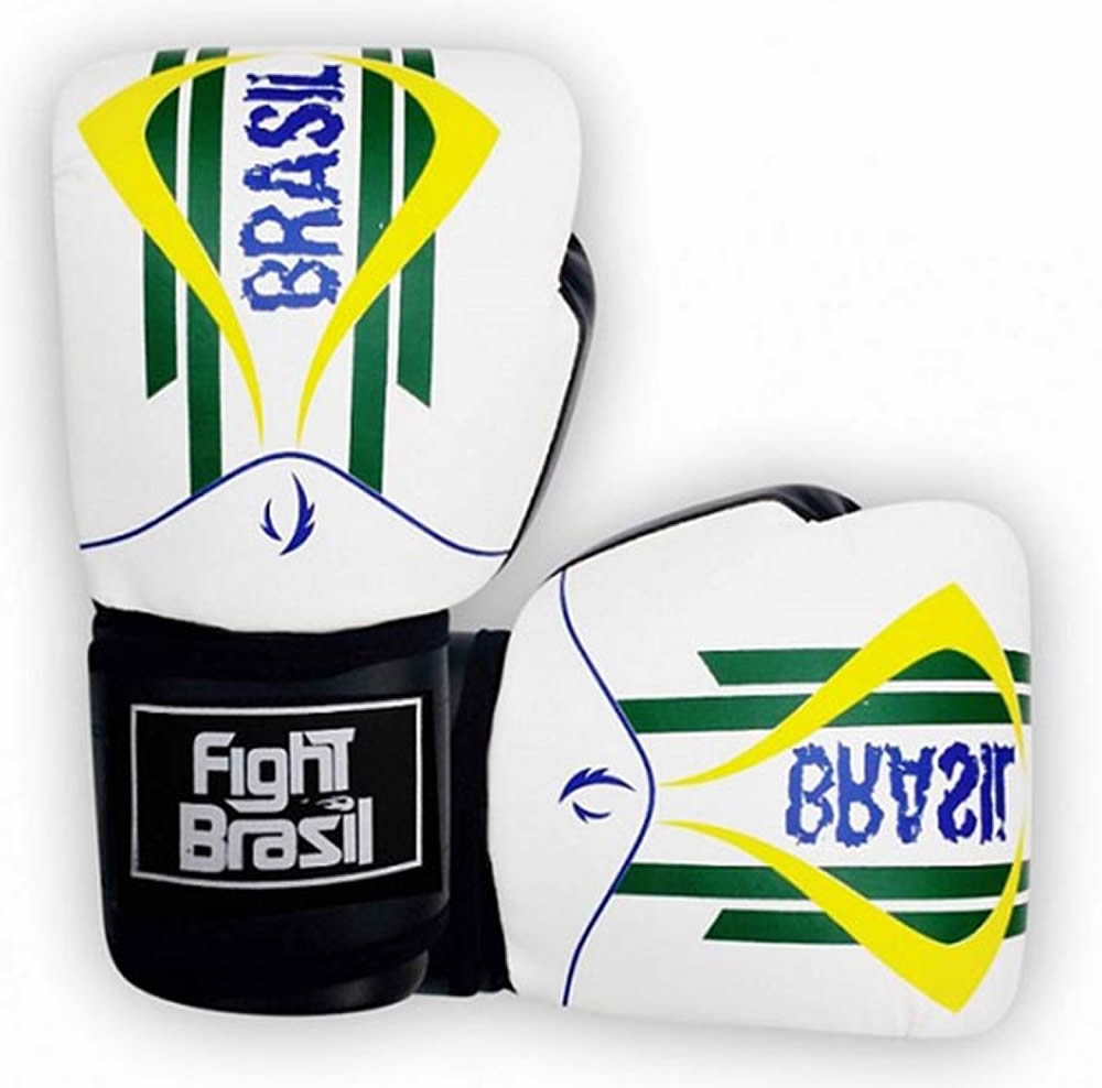 Luvas Kick Boxe Muay Thai - Brasil - FBX-1469