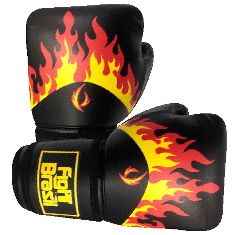Luvas Kick Boxe Muay Thai - Fogo - Fbr - Par