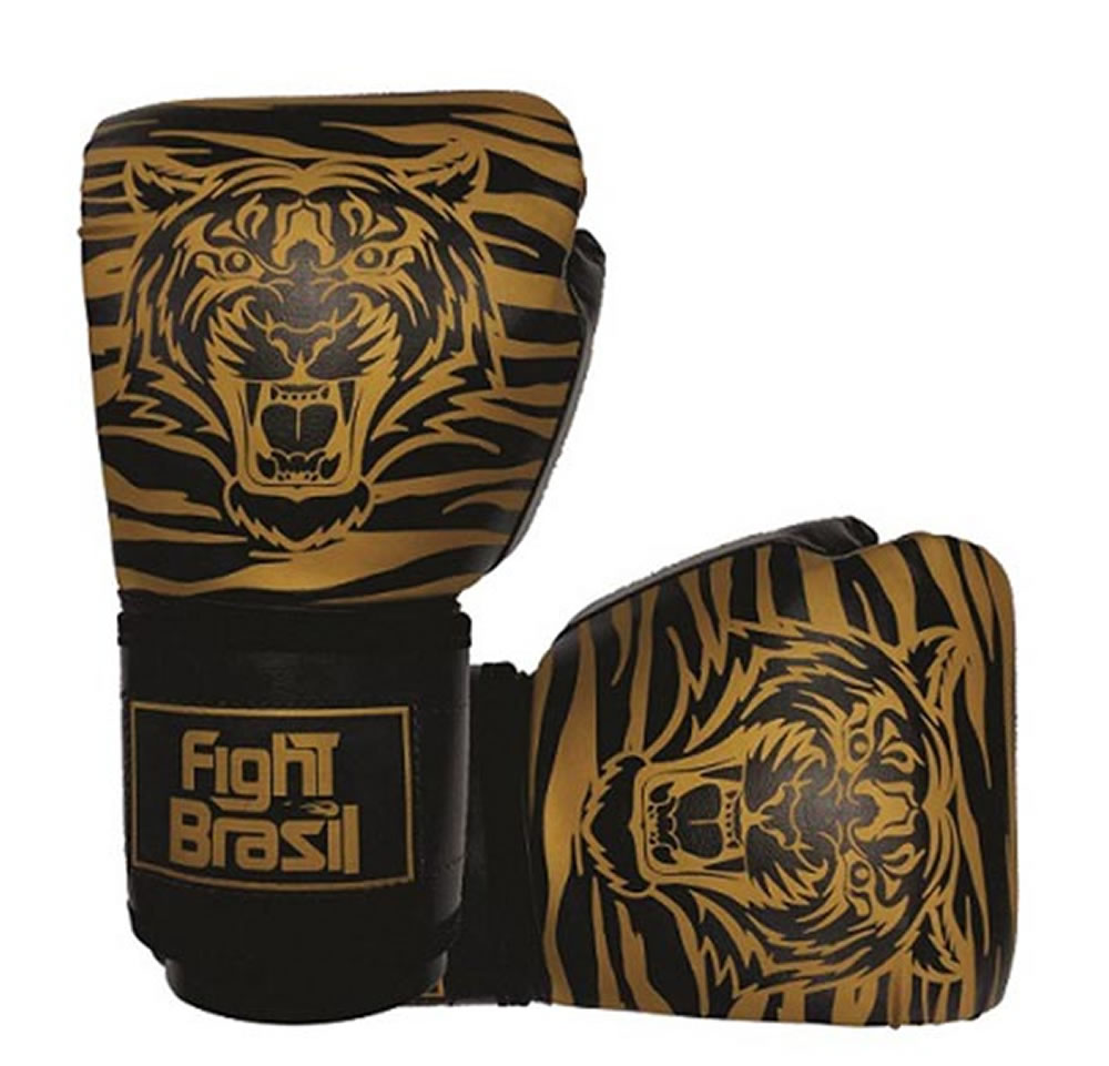 Luvas Kick Boxe Muay Thai Tiger Elite - 08 OZ - Infantil