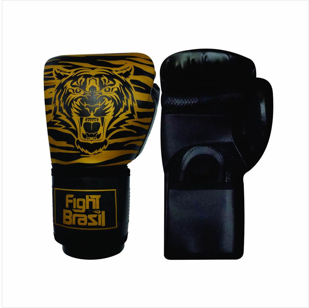 Luvas Kick Boxe Muay Thai Tiger Elite - 08 OZ - Infantil  - Loja do Competidor
