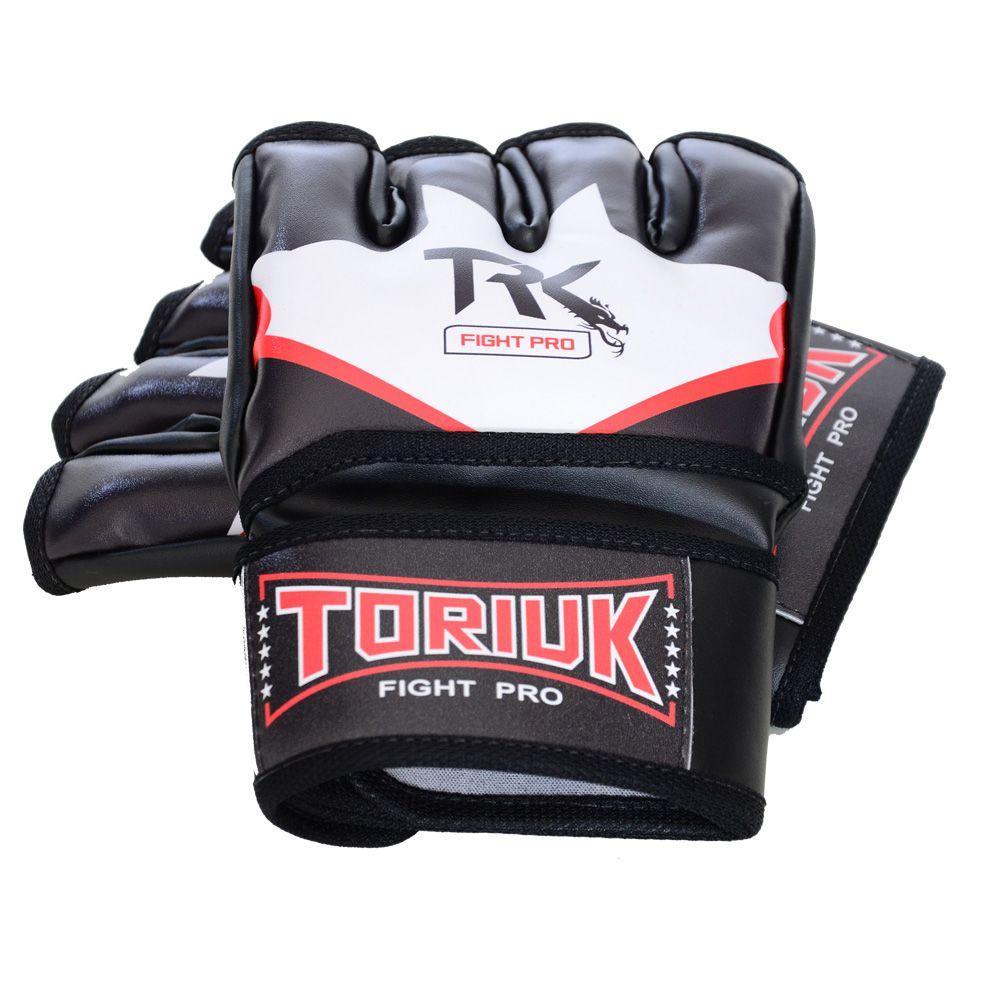 Luvas MMA e Grappling - Fight Pro - Bat - Sem Polegar - Toriuk -