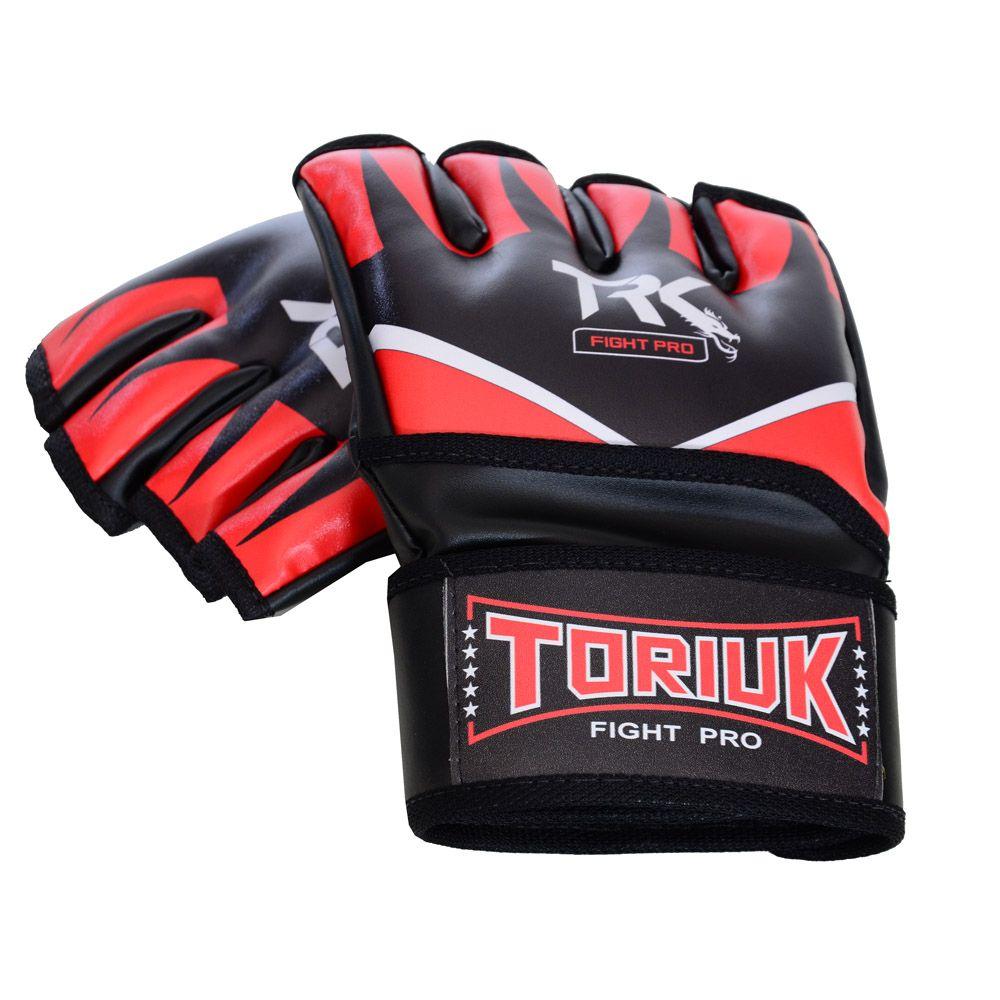 Luvas MMA e Grappling - Fight Pro - Garras - Sem Polegar - Toriuk -