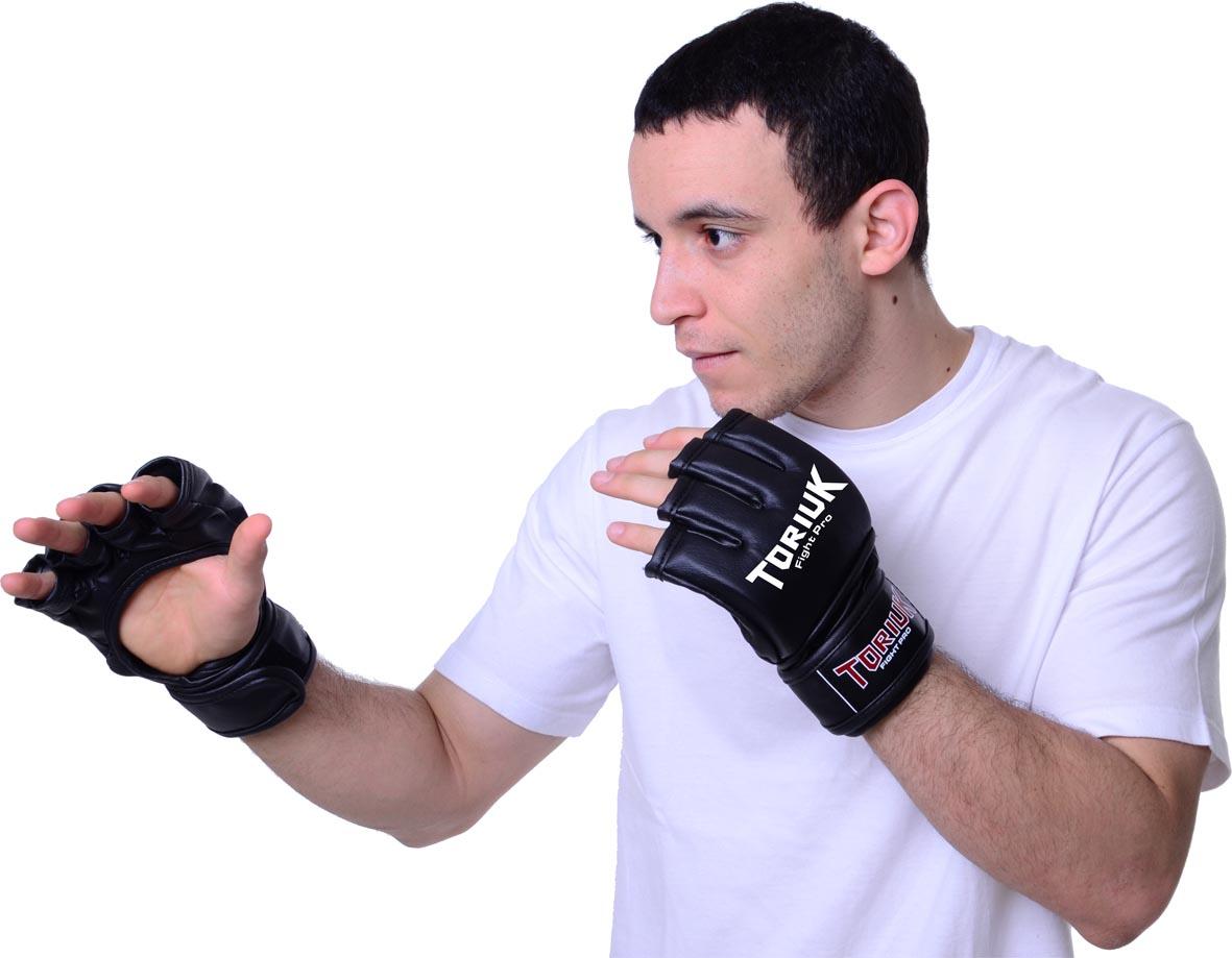 Luvas MMA - Toriuk Pro - Sem Polegar- Estilo UFC - Frete Grátis  - Loja do Competidor