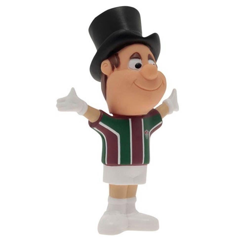 Mascote de Plástico - Oficial - Fluminense - 15x20 cm - Mania