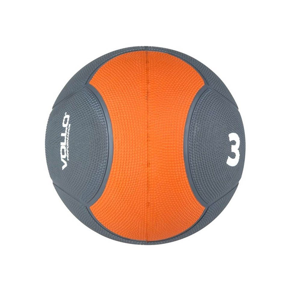 Medicine Ball para Artes Marciais / Treino Funcional / Fitness - 3KG - Vp1003 - Vollo  - Loja do Competidor