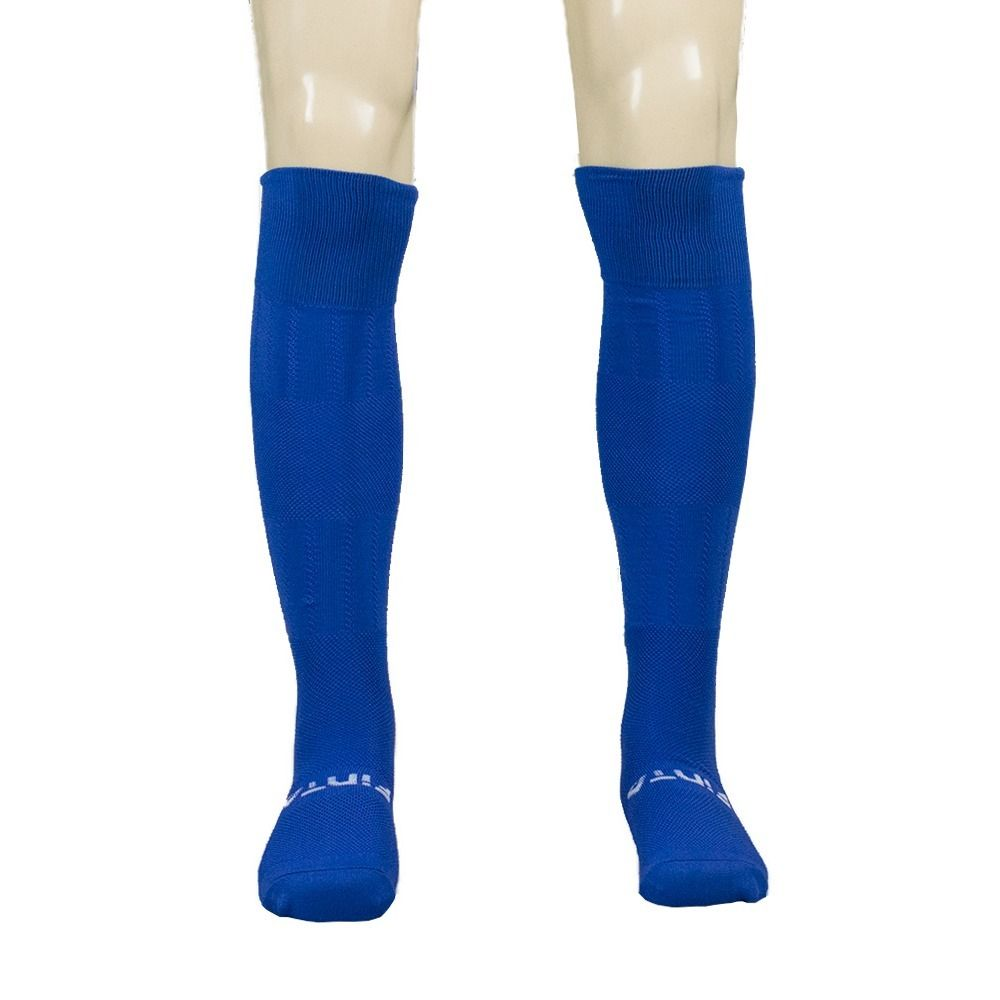 Meia / Meião para Futebol / Futsal - Alcance - Juvenil - Azul/Branco - Finta