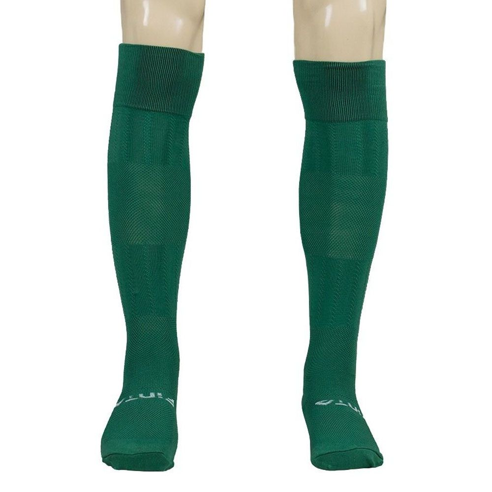 Meia / Meião para Futebol / Futsal - Alcance - Juvenil - Verde/Branco - Finta