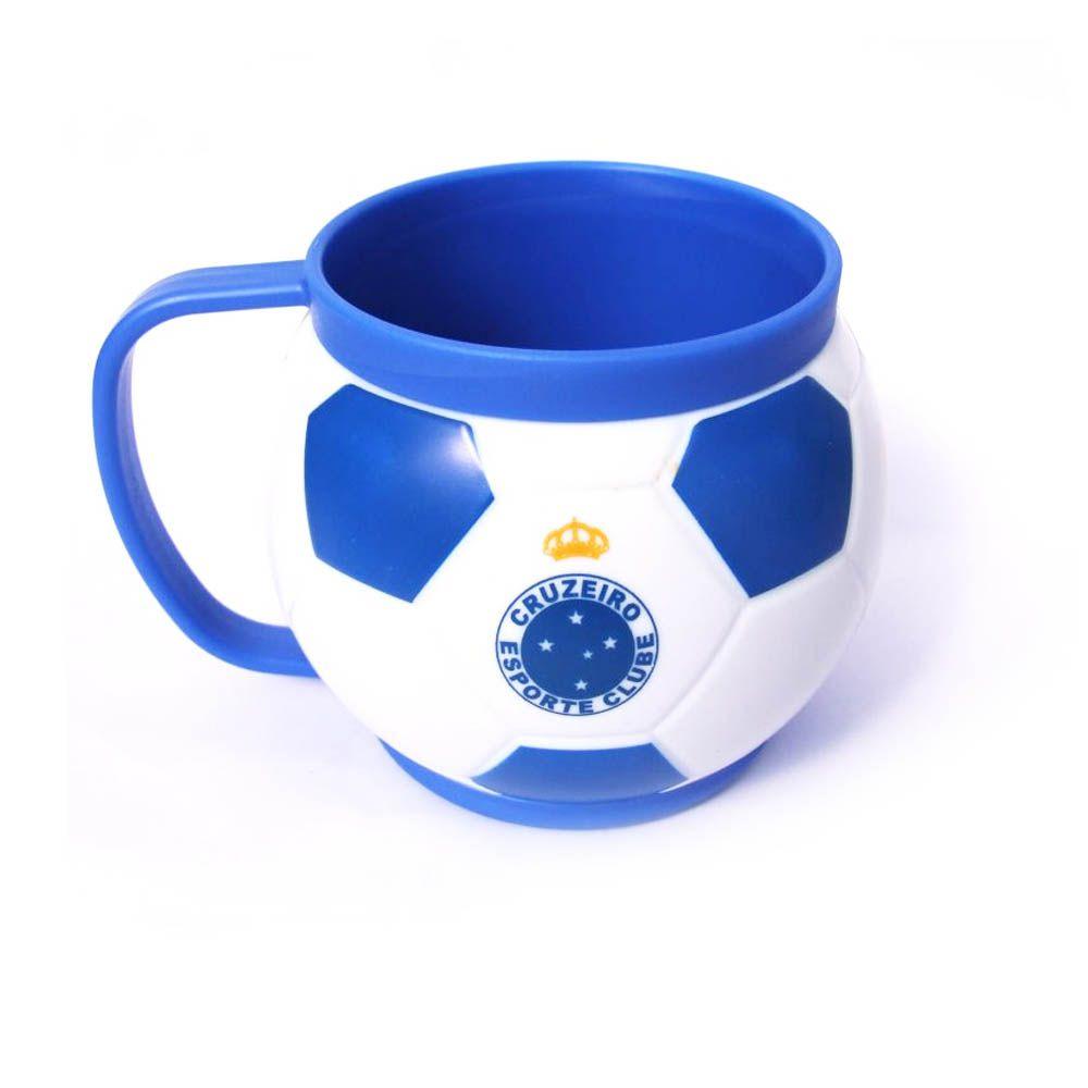 Mini Caneca Mugball -  200 ml- Cruzeiro - Pentagol