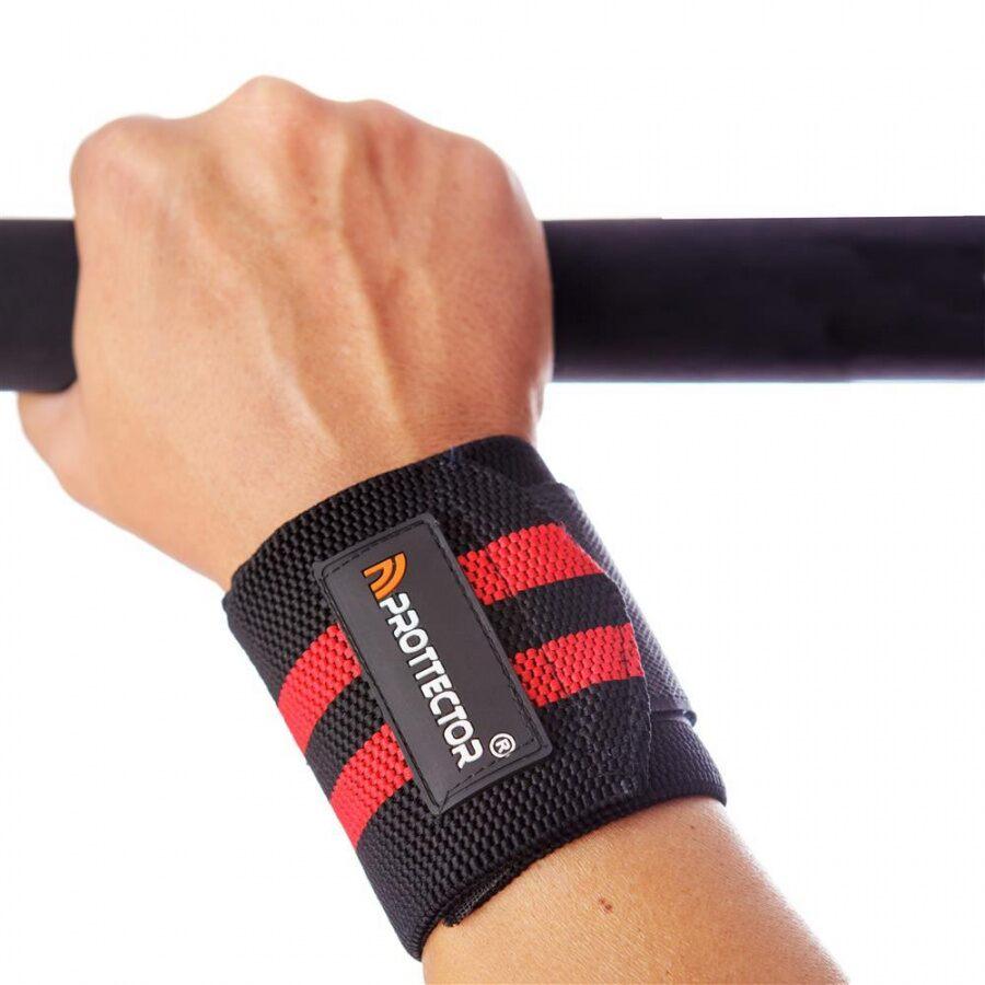 Munhequeira Elástica Stronger 80mm - Musculação/Crossfit - Par