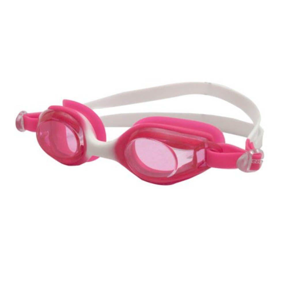 Óculos de Natação - Flash - Júnior - Branco/Rosa - Hammerhead