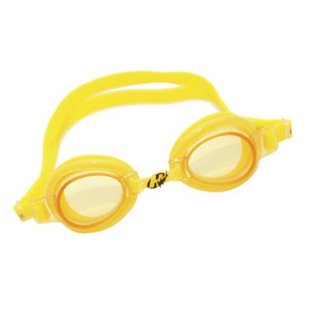 Óculos de Natação Focus 1.0 - Júnior- Hammerhead - Amarelo - Unid  - Loja do Competidor