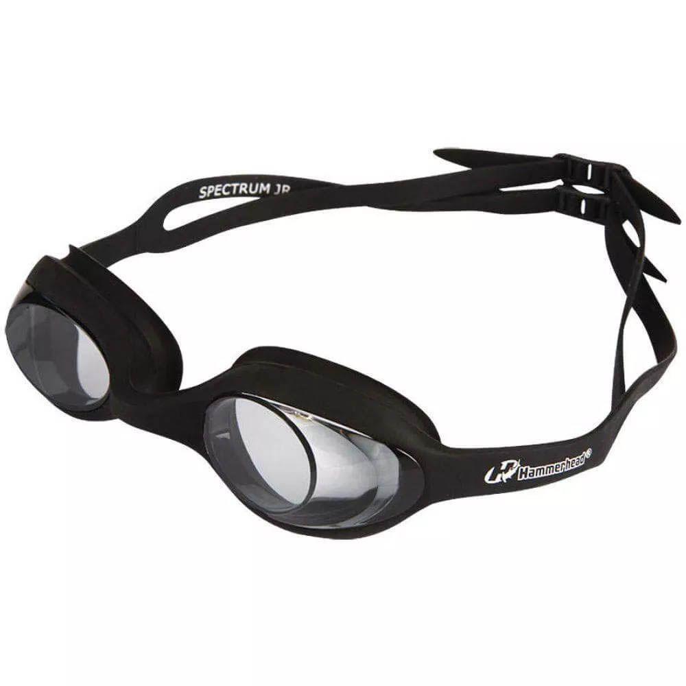 Óculos de Natação - Spectrum - Júnior - Preto - Hammerhead