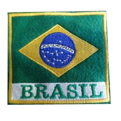 Patches para Doboks - Bandeiras - Bordado  - Loja do Competidor