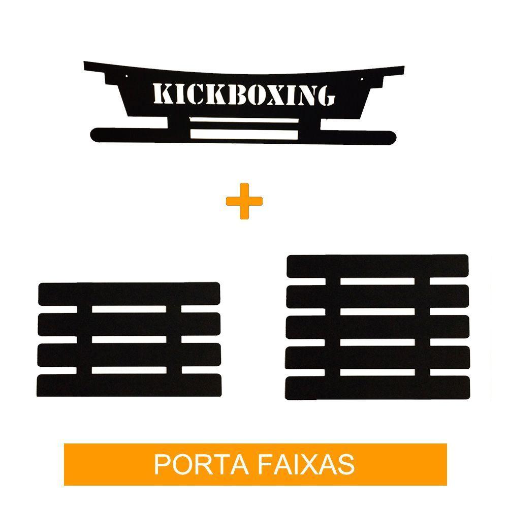 Porta Faixas para Kickboxing - Infantil / Adulto - para 9 Faixas- Toriuk