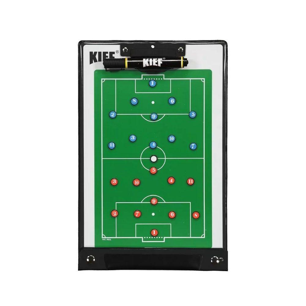 Prancheta Magnética Tática com Imã - Futebol de Campo