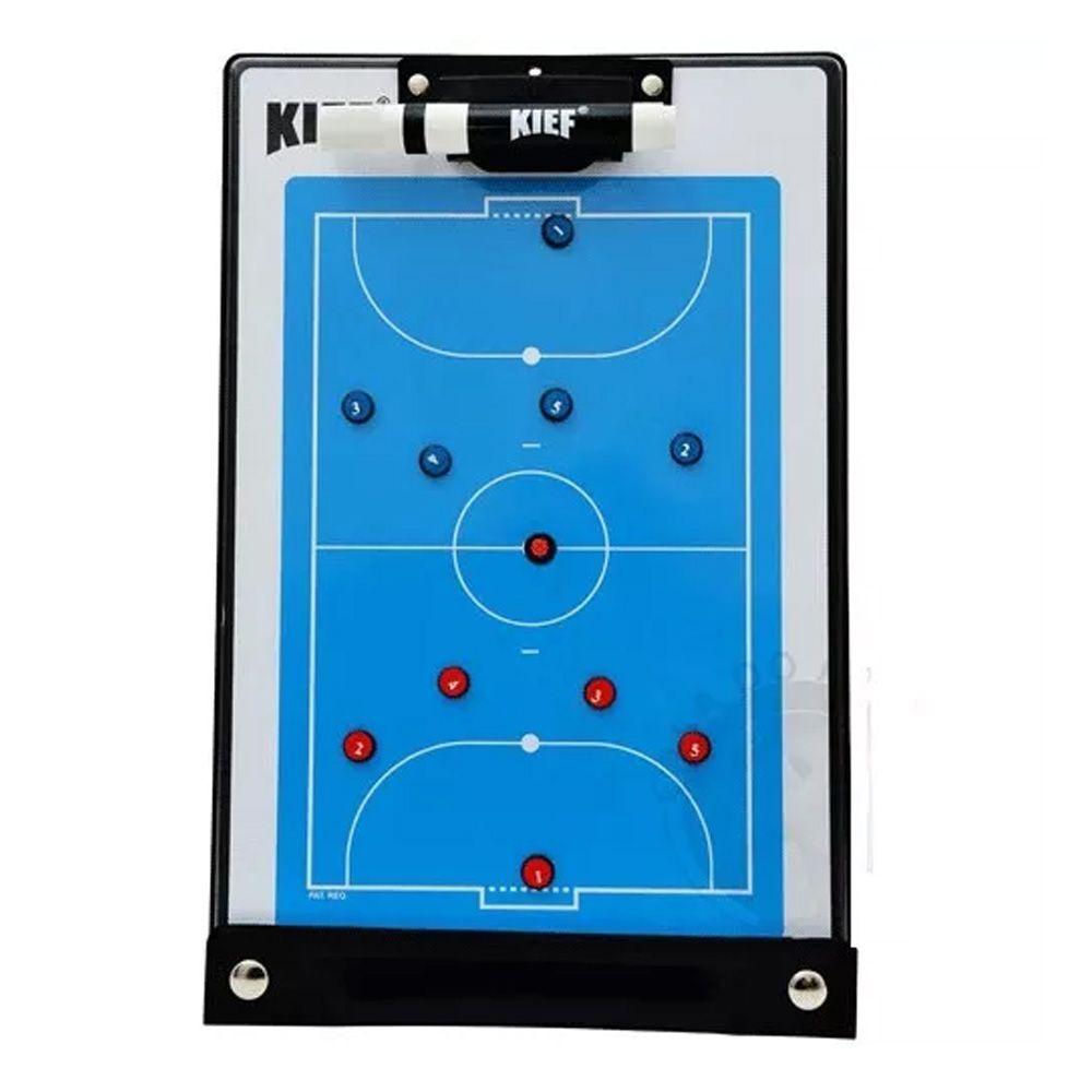 Prancheta Magnética Tática com Imã - Futebol Salão / Futsal- Finta  - Loja do Competidor