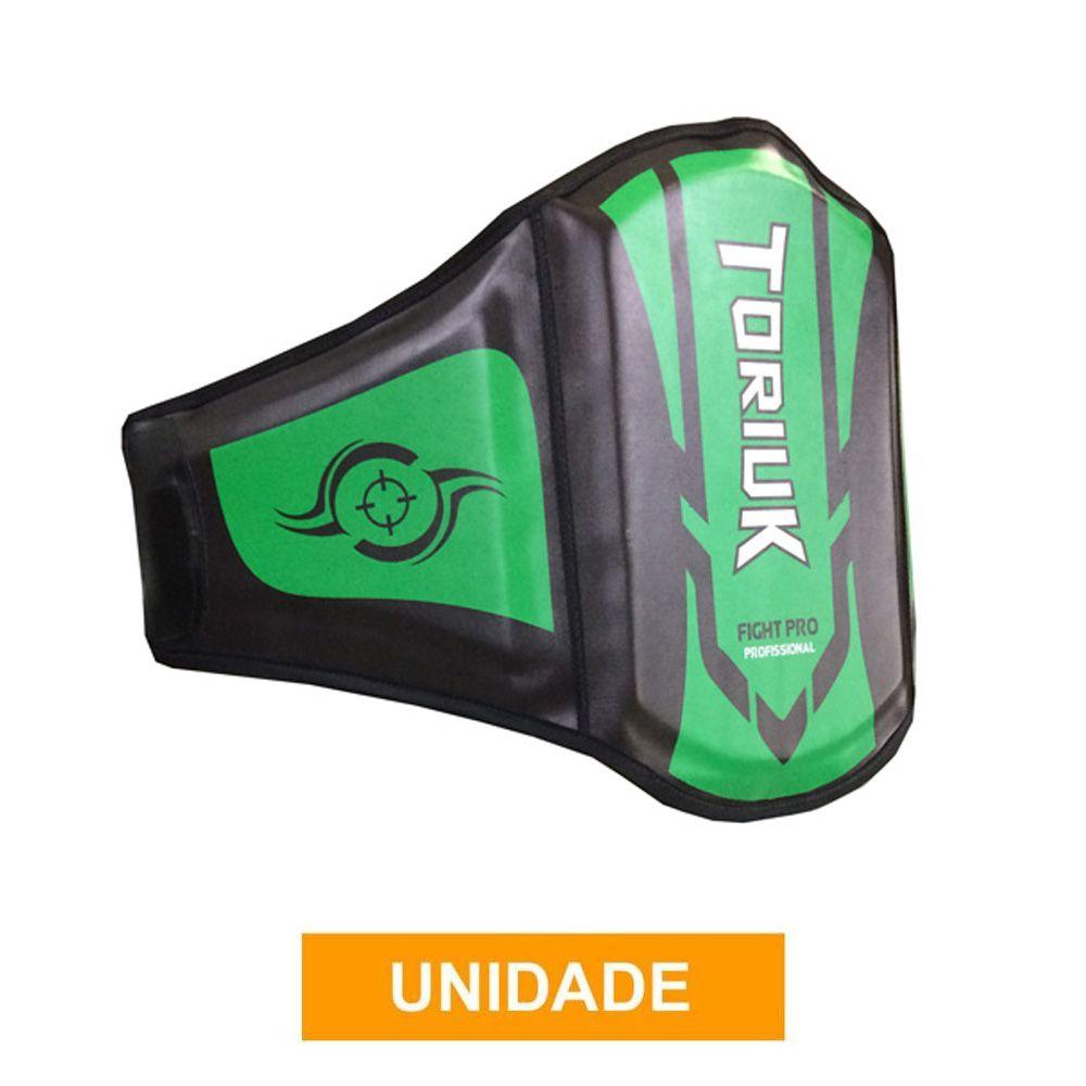 Protetor Abdominal Cinturão Muay Thai - Centurion Extreme - Verde- Unid
