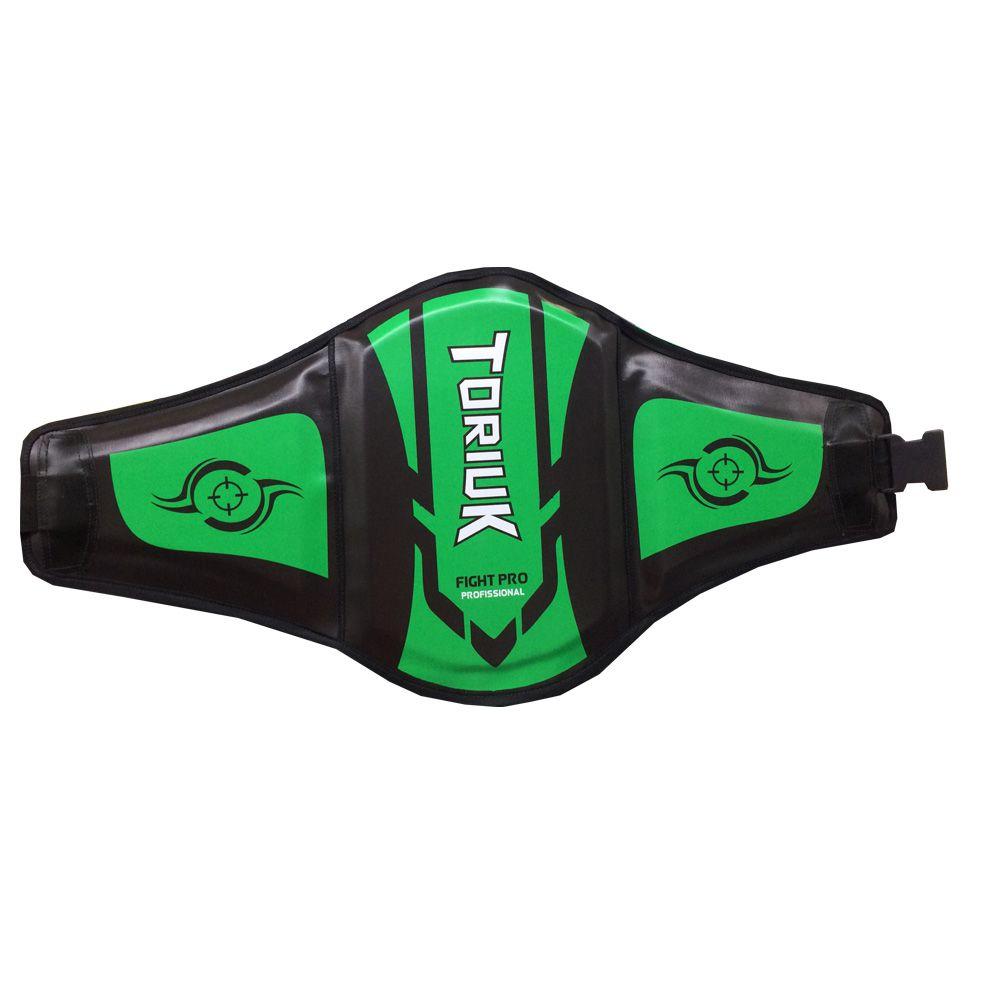 Protetor Abdominal Cinturão Muay Thai - Centurion Extreme - Verde- Unid  - Loja do Competidor
