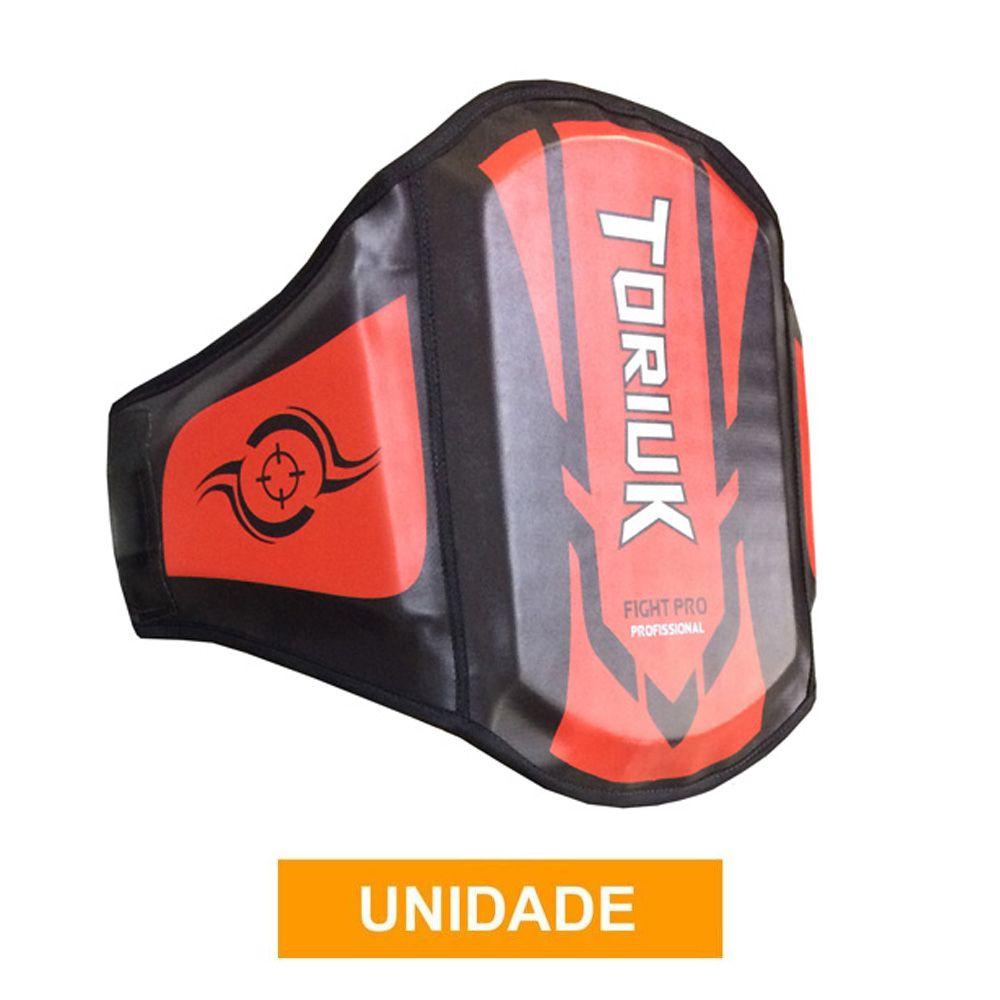Protetor Abdominal Cinturão Muay Thai - Centurion Extreme - Vermelho - Unid