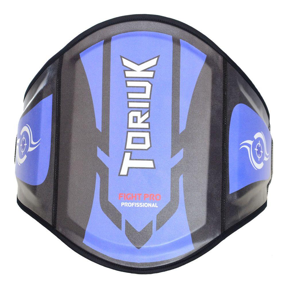 Protetor Abdominal Cinturão Muay Thai - Centurion - Azul - Unid
